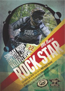 Test of Metal Rockstar Poster 2014 by Goodwin Studios
