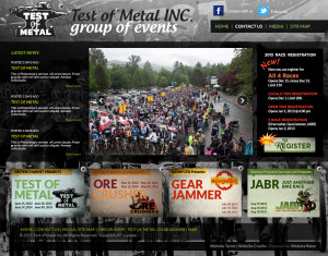 Test of Metal Website 2012
