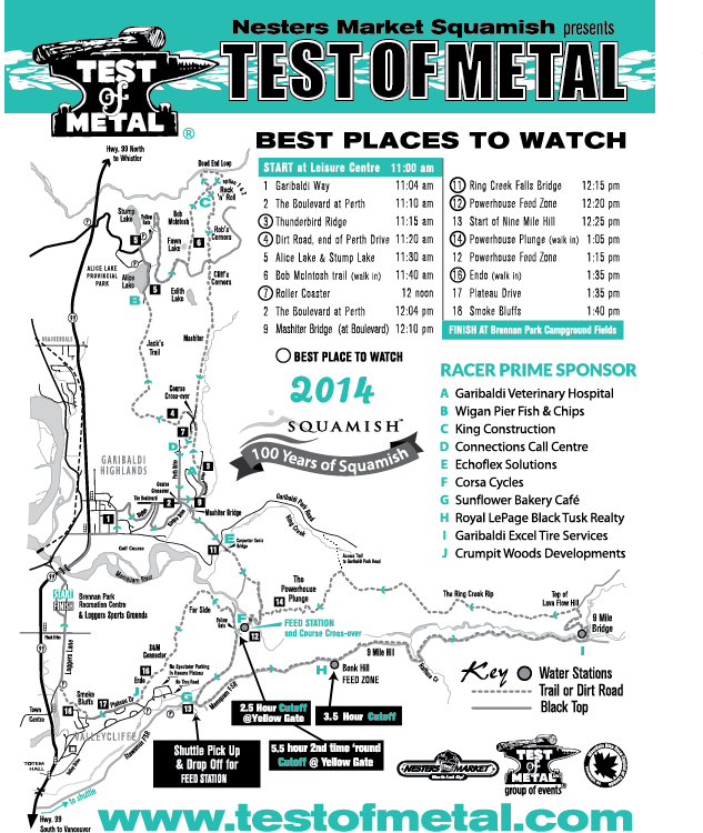 Test of Metal Course Map - Goodwin Studios