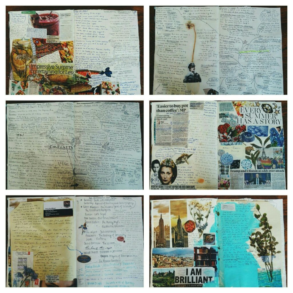 Yvonne Hanson Visual Journal - Goodwin Studios