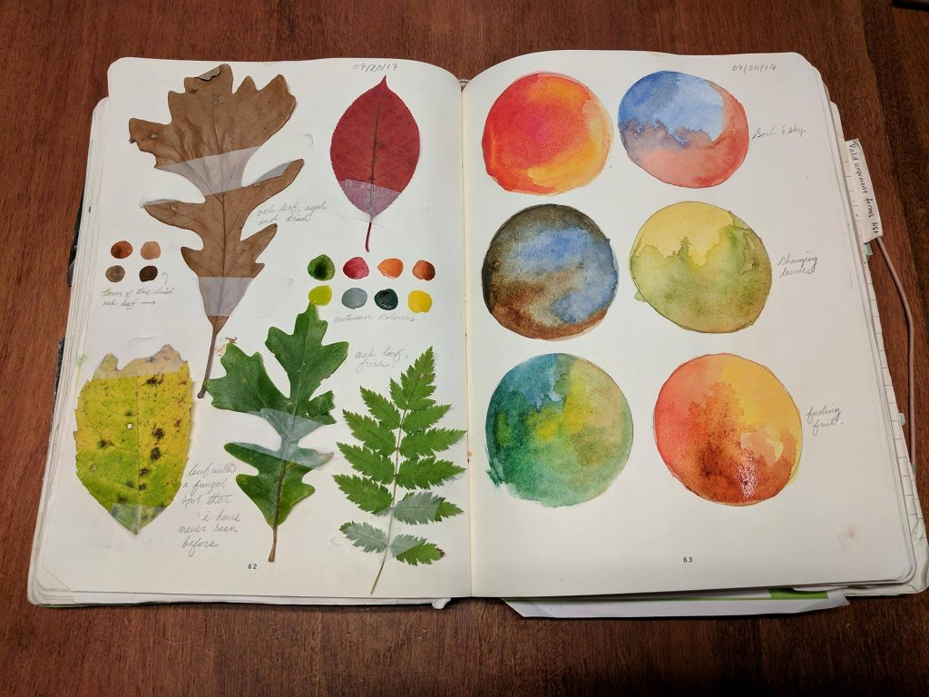 Yvonne Hanson Prompts for A Creative Autumn - Goodwin Studios